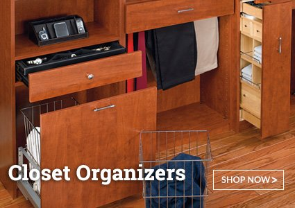 Closet Cabinet Organizers