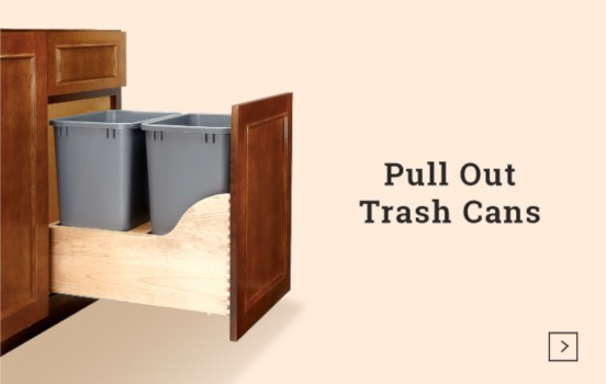 Cabinet Pull-Out Trash Systems