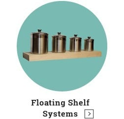 Floating Shelf Systems