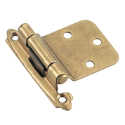 Decorative Semi Concealed Hinges