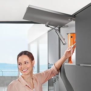 AVENTOS HK-XS & Tip On Stay Lift System By Blum