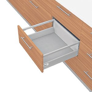 TANDEMBOX D Height With Single Gallery Drawer