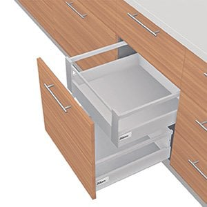 TANDEMBOX D Height With Single Gallery Interior Roll-out Drawer