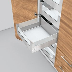 TANDEMBOX D Height With Design Element Interior Roll-out Drawer