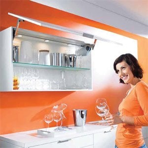 AVENTOS HS Up And Over Lift System & SERVO-DRIVE by Blum
