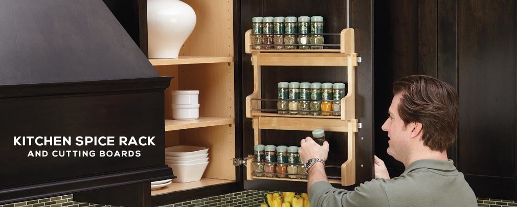 Spice Rack and Cutting Boards