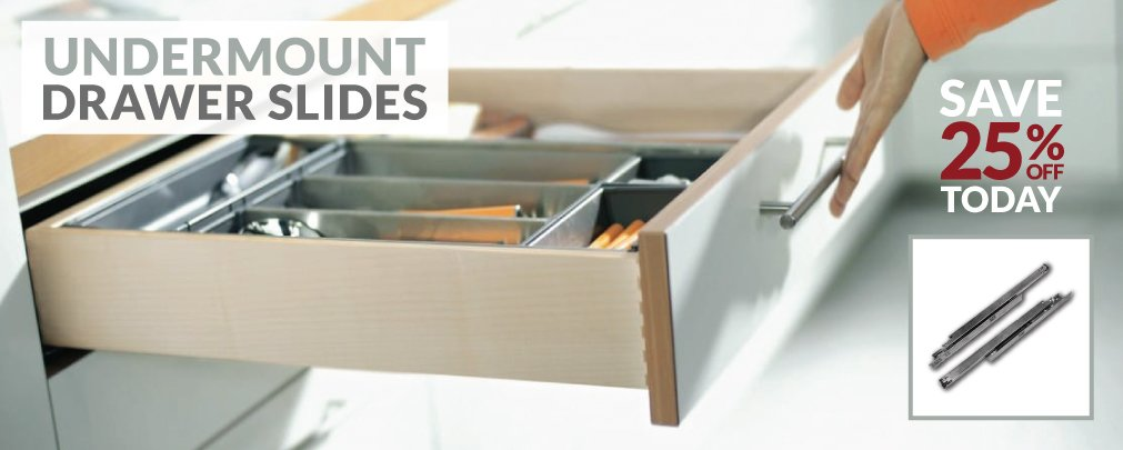 Undermount Drawer Slides Cabinetparts Com