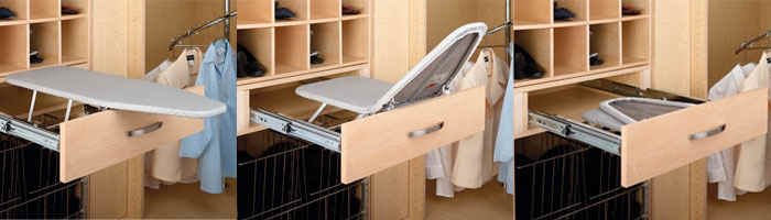 Fold Out Ironing Boards