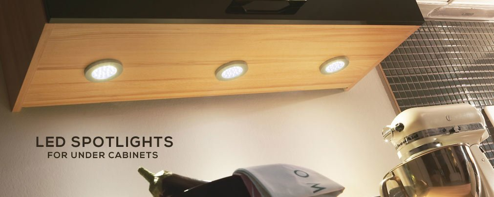 LED Spotlights for Under Cabinets
