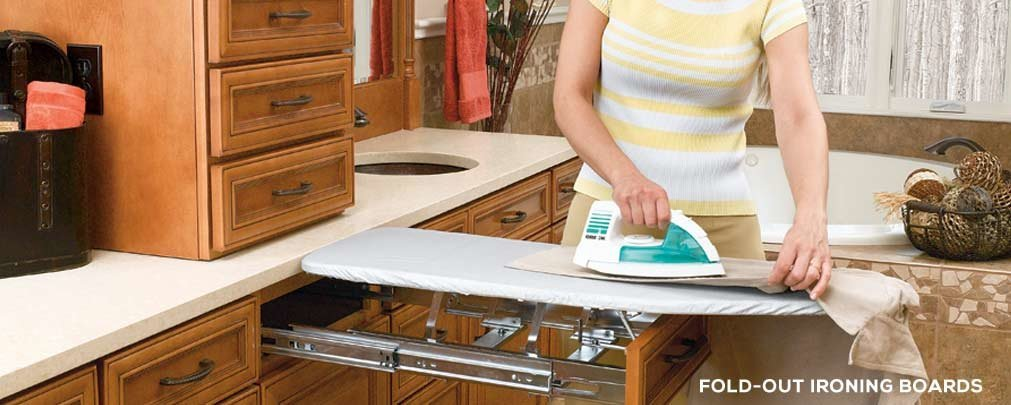 Fold-Out Ironing Boards