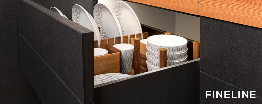 Fineline Kitchenware & Plate Organizers by Hafele