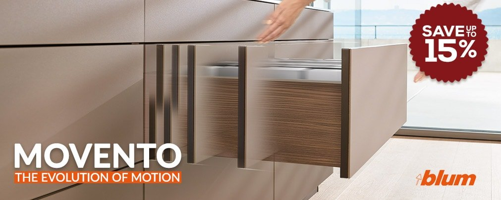 MOVENTO Drawer Slides by Blum