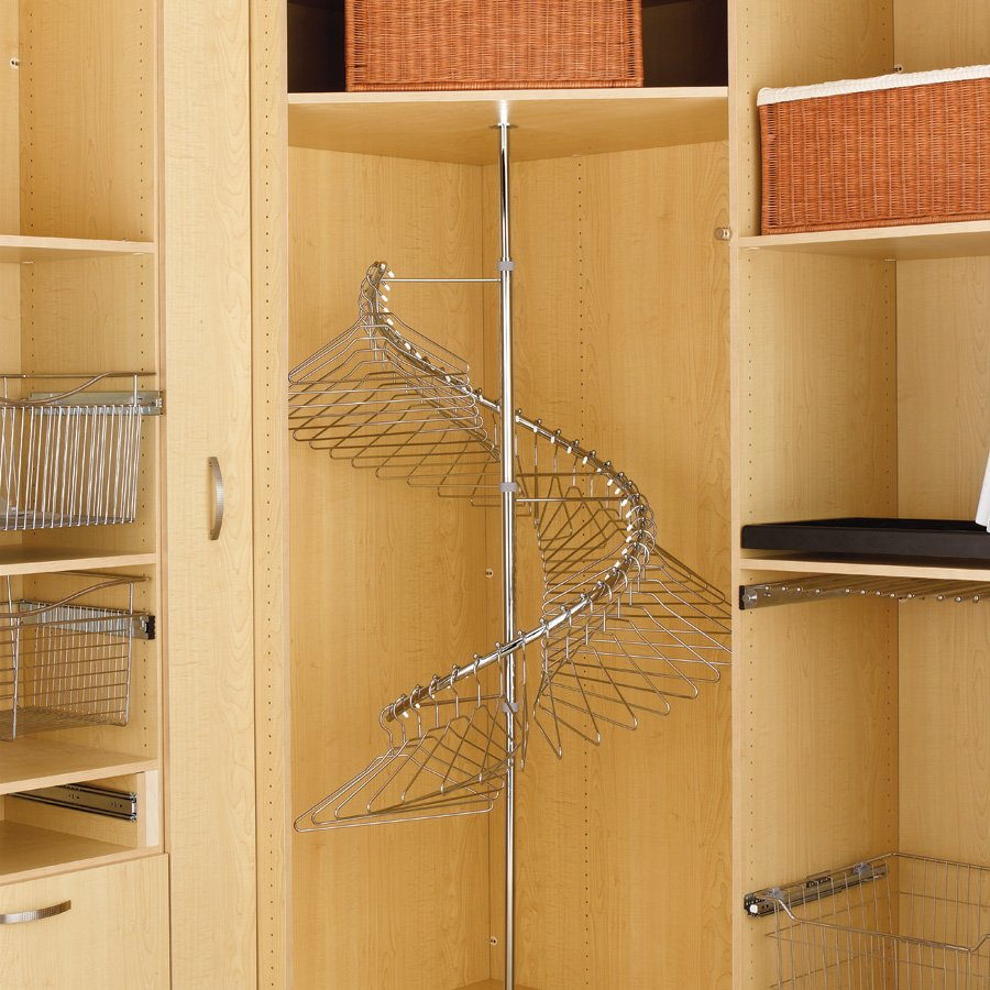 Rev A Shelf 360 Degree Spiral Clothes Rack SHR 3684