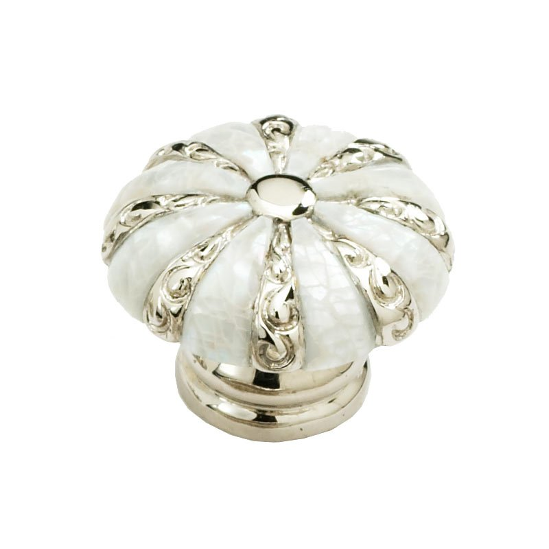 Schaub And Company Mother Of Pearl 1 3/8 Inch Diameter Mother Of Pearl