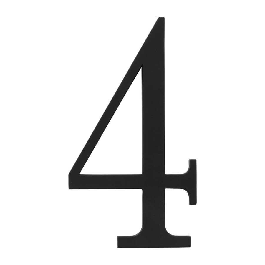 atlas homewares house number four black trn4bl