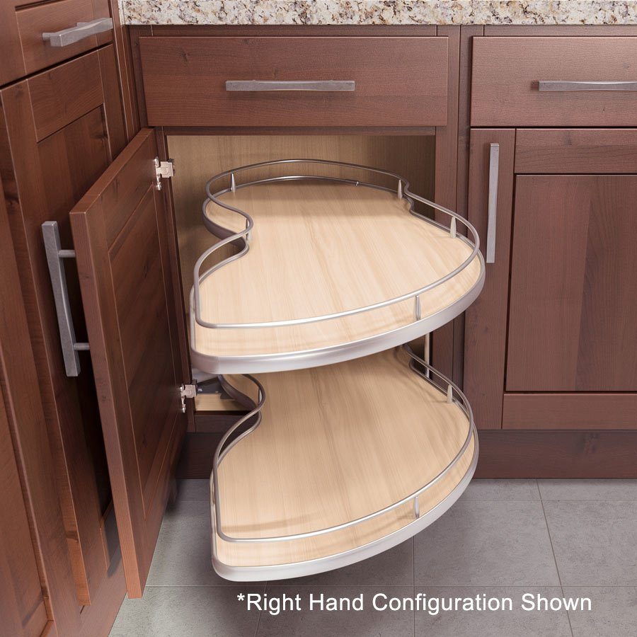 Kitchen cabinet base blind corner - Vauth Sagel Twin Corner 3 Blind Corner Pull Out 51 Quot W Left Hand