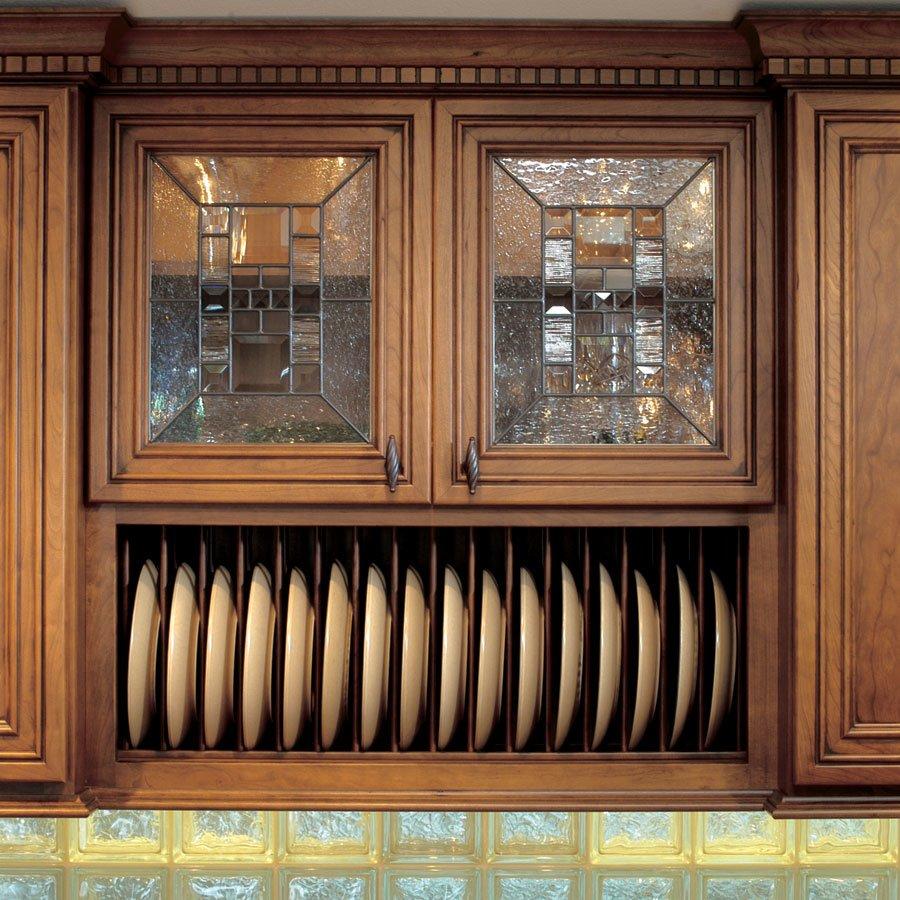 omega national products plate display rack 30 hickory npd 30 hi. Black Bedroom Furniture Sets. Home Design Ideas