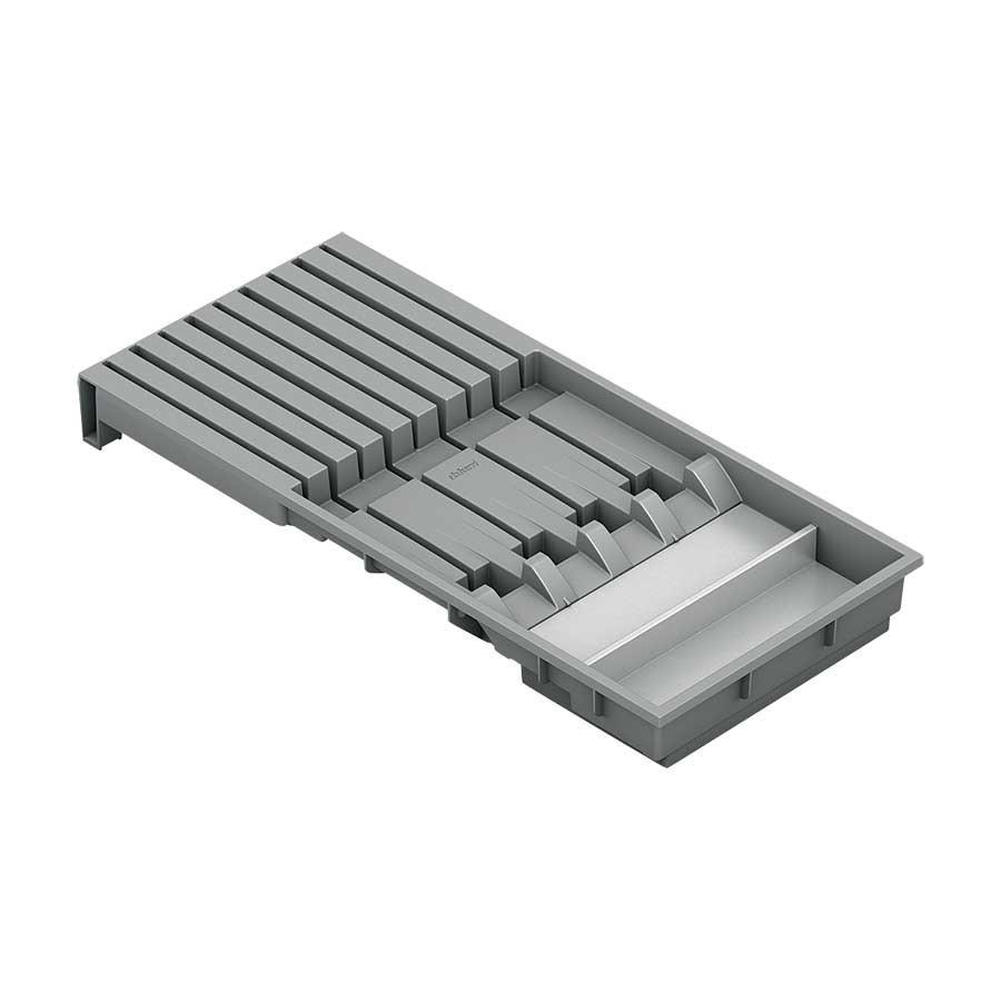 Blum Legrabox Knife Holder Orion Gray Amp Stainless Zc7m0200