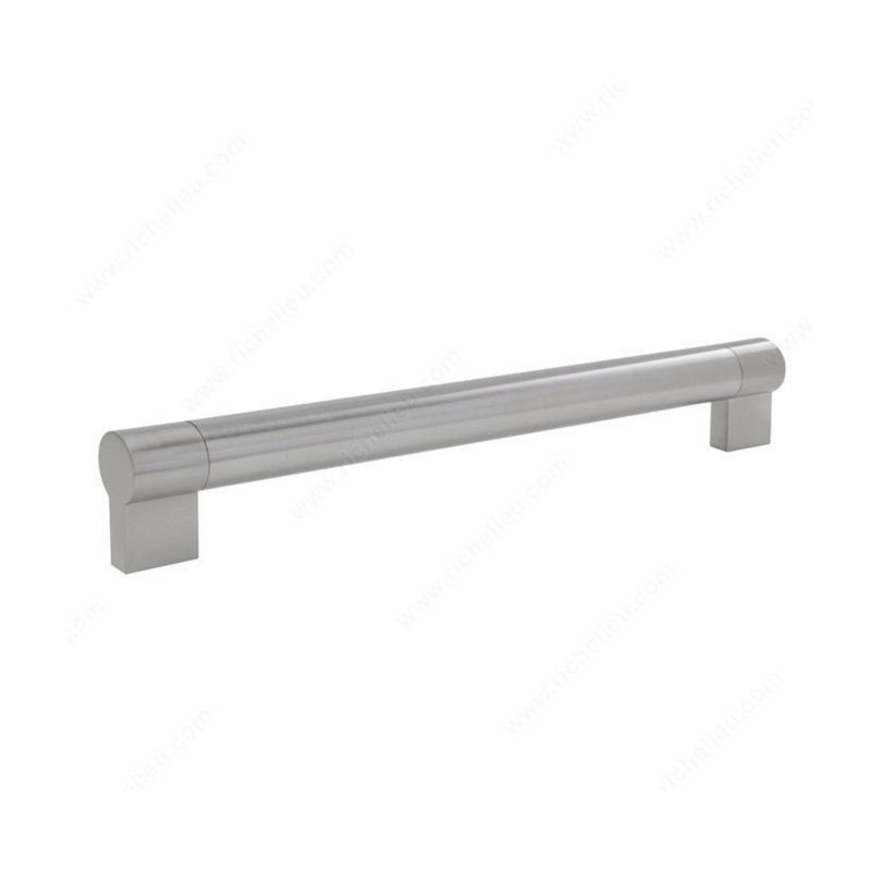 Richelieu Bar Pulls 12 5/8 Inch Center To Center Brushed Nickel Cabinet Pull