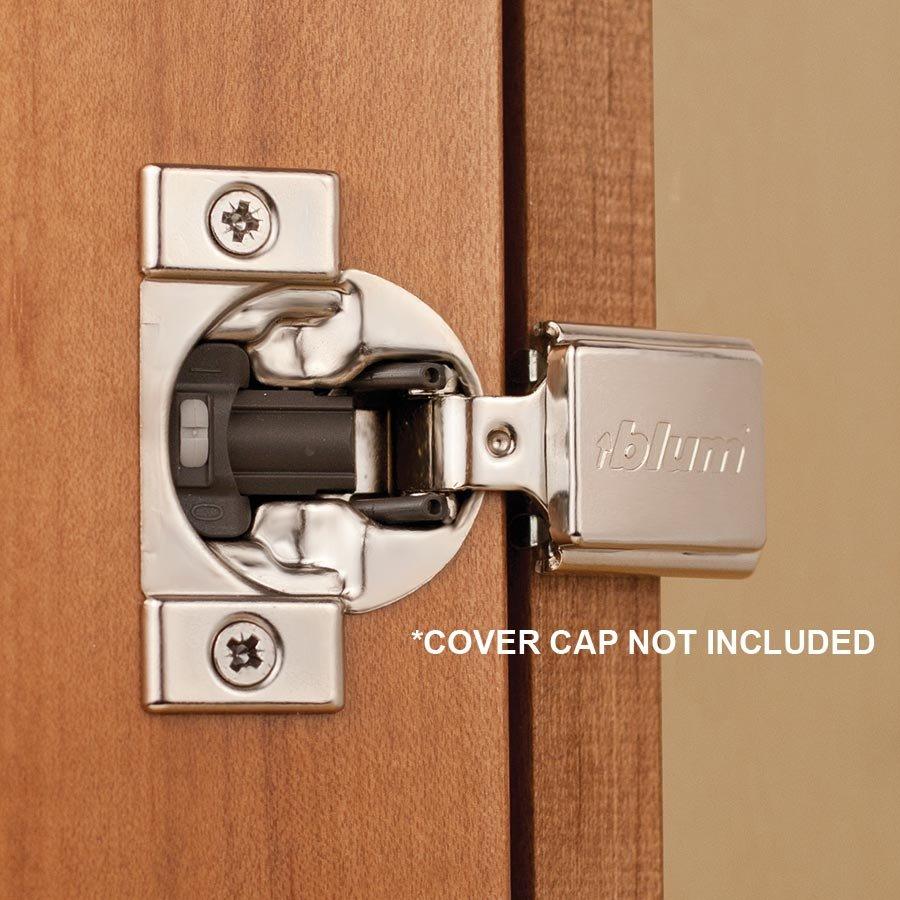 "Compact Blumotion 38N Hinge & Mounting Plate 3/8"" Overlay ..."