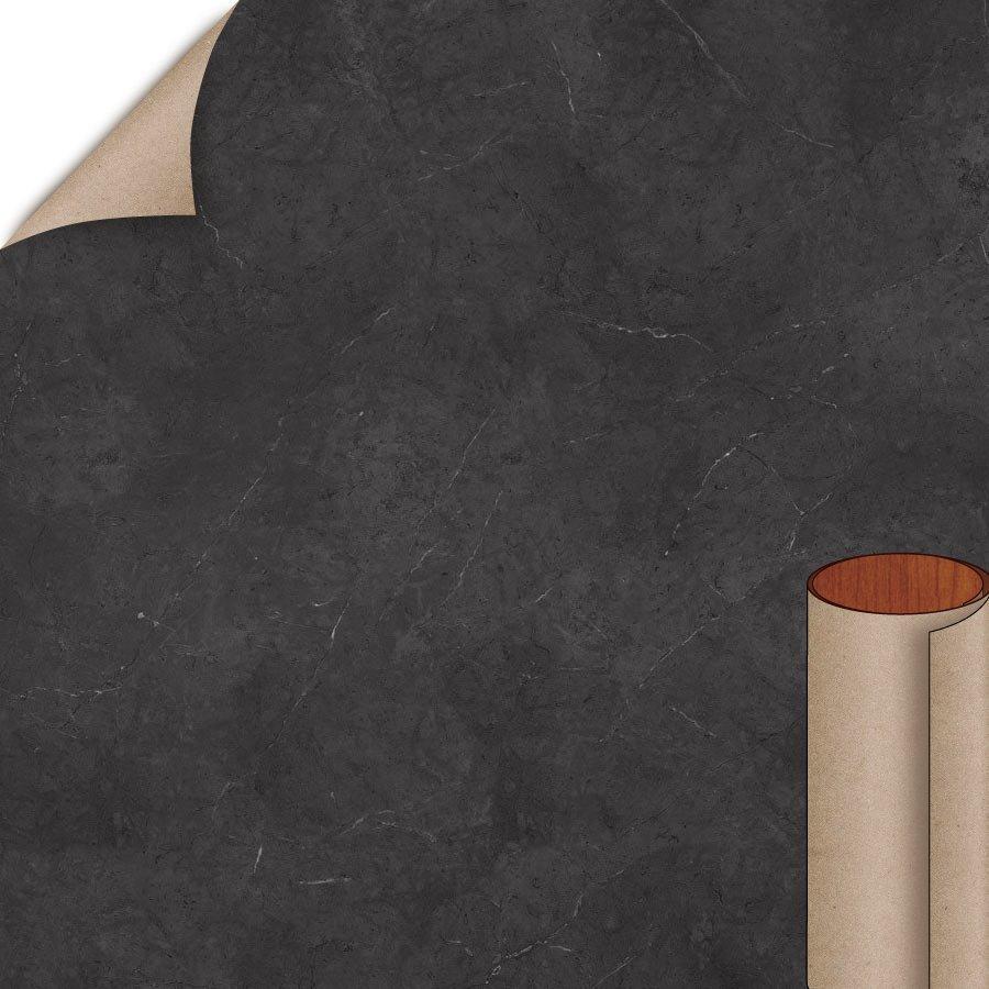 Wilsonart Black Alicante Textured Gloss Finish 5 Ft X 12