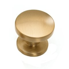 Northport 1-3/8 Inch Diameter Brushed Bronze Cabinet Knob