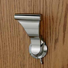 UltraLatch For 1-3/8 inch Door Bright Nickel