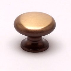 Valencia 1-3/16 Inch Diameter Brushed Bronze Cabinet Knob