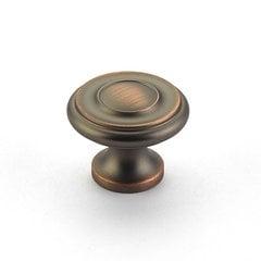 Colonial 1-1/4 Inch Diameter Aurora Bronze Cabinet Knob