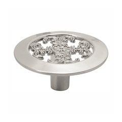 Cavalier 1-1/2 Inch Diameter Satin Nickel Cabinet Knob
