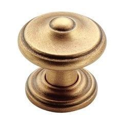 Revitalize 1-5/16 Inch Diameter Gilded Bronze Cabinet Knob <small>(#BP55341GB)</small>