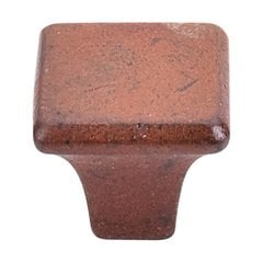 Britannia 1-3/16 Inch Diameter True Rust Cabinet Knob