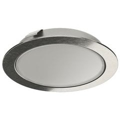 20% OFF Loox LED 2047 12V Recess/Surface Mount Puck Light, 3000K Warm White - Stainless Steel