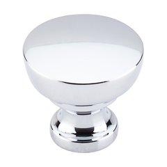 Dakota 1-1/4 Inch Diameter Polished Chrome Cabinet Knob <small>(#M1121)</small>
