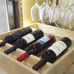 QuikTRAY Wine Rack 24 inch Wide Unfinished <small>(#QT-WINERACK)</small>