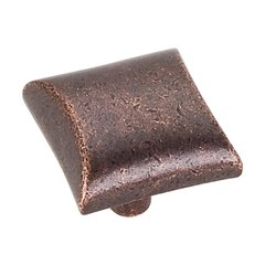 Glendale 1 Inch Diameter Distressed Oil Rubbed Bronze Cabinet Knob