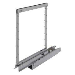 "Kessebohmer Pantry Frame 74-7/8"" - 90-1/2"" High Silver 546.62.903"
