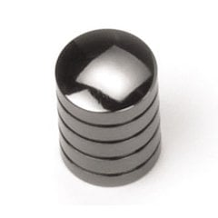 Delano 5/8 Inch Diameter Black Nickel Cabinet Knob <small>(#26212)</small>