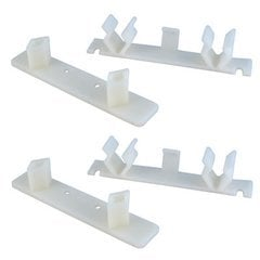 False Front Clip Set for 4-1/2 inch Opening (M/F) - Pack of 2