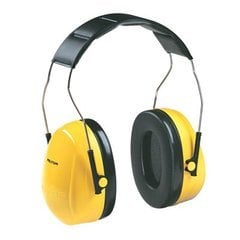 3M Peltor Optime 98 Earmuffs Yellow