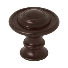 Kentworth 1-3/8 Inch Diameter Venetian Bronze Cabinet Knob