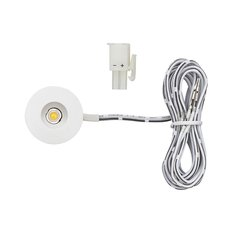 1W 12VDC Mini-Spot/Eye LED 3000K White <small>(#L-LED-1EB-WWH-1)</small>