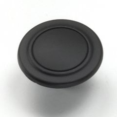 Richmond 1-1/4 Inch Diameter Oil Rubbed Bronze Cabinet Knob