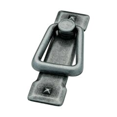 Mission 2-1/4 Inch Center to Center Antique Pewter Cabinet Bail Pull