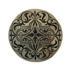 Olde Worlde 1-7/16 Inch Diameter Brite Brass Cabinet Knob