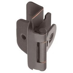 Double Demountable 1/2 inch Overlay Hinge Oil Rubbed Bronze- Pair