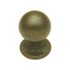 Oxford Antique 3/4 Inch Diameter Windover Antique Cabinet Knob <small>(#PA1211-WOA)</small>