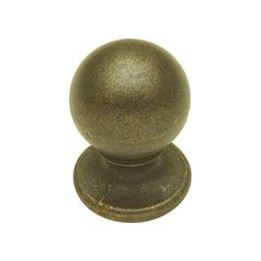 Oxford Antique 3/4 Inch Diameter Windover Antique Cabinet Knob
