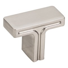 """Anwick Cabinet Knob 1-3/8"""" L - Satin Nickel <small>(#867SN)</small>"""