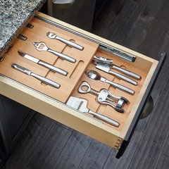 Cutlery Drawer for 18 inch Cabinets with Utensils